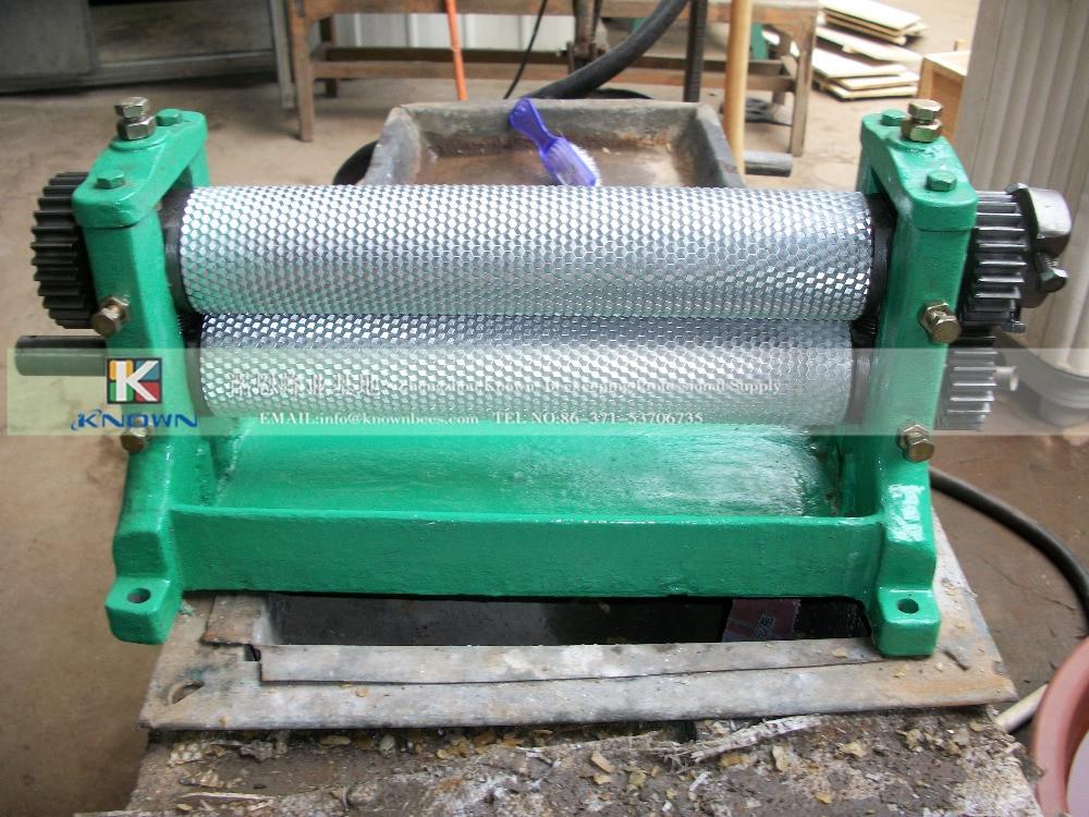 Manual Beewax Foundation Machine Embossing Machine 450mm