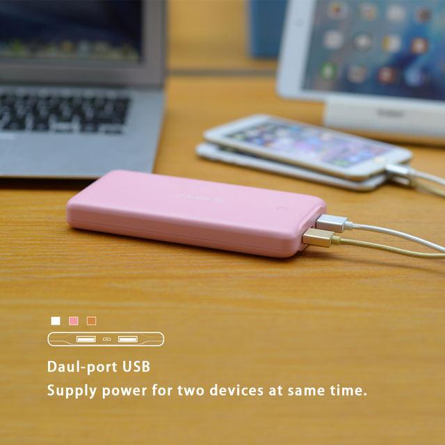 20000 mAh Double USB Power Bank