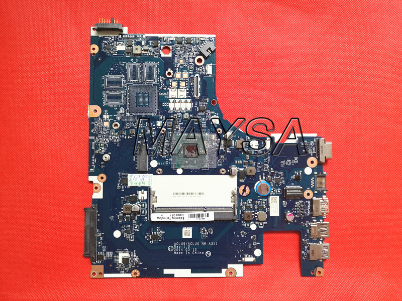 High Quality ACLU9 / ACLU0 NM-A311 System Board Fit For Lenovo  G50-30 Laptop Motherboard DDR3 with Processor нитки gutermann 100% п э 30 м 5 шт 744506 132013 311 311