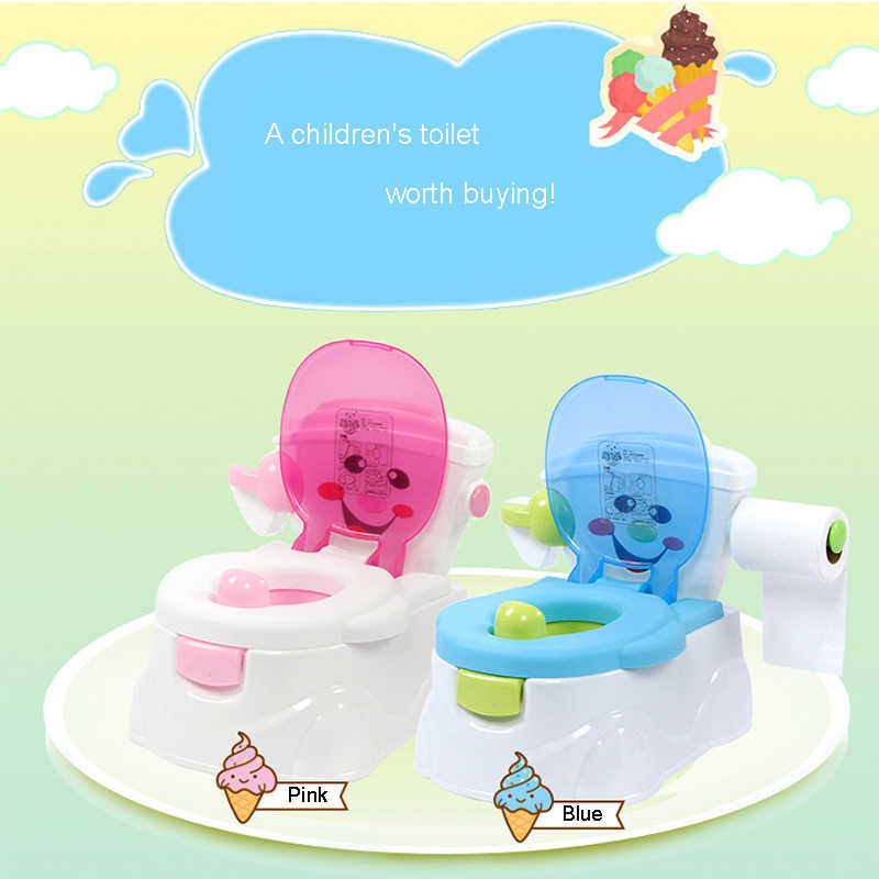 Детский горшок портативный детский туалет с мультяшными автомобилями Горшок детский горшок для обучения девочек горшок для мальчика детский стул сиденье для унитаза Детский горшок WC