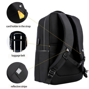 Image 3 - ARCTIC HUNTER 15.6 นิ้ว Professional กันน้ำแล็ปท็อปกระเป๋าเป้สะพายหลัง USB กระเป๋าเป้สะพายหลังกีฬา Casual โน้ตบุ๊คกระเป๋าเดินทางชาย 2019