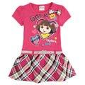 Розничная дора платья для девочки платье мода девушки ну вечеринку платье принцессы бантом Novatx одежда для девочек детская одежда