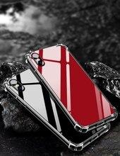 Зеркало акриловый чехол для iPhone X 6 6 S 7 8 плюс анти шок Жесткий Назад + ТПУ Мягкая обложка для iphonex 10 Чехол Coque Fundas 2018 Новый