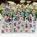 100 листов Собака Патруль 3D Мультфильм Собака Наклейки День Рождения Украшения для Детей Подарки