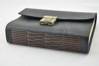 2014 Genuine Leather Journal Secret Diary With Lock And Password Code 18CM 13CM 4 5C