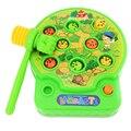 Crianças Máquina de Música Elétrica Jogar Hamster Brinquedos com Martelo Brinquedos Educativos Presente Das Crianças Engraçado Noise Maker