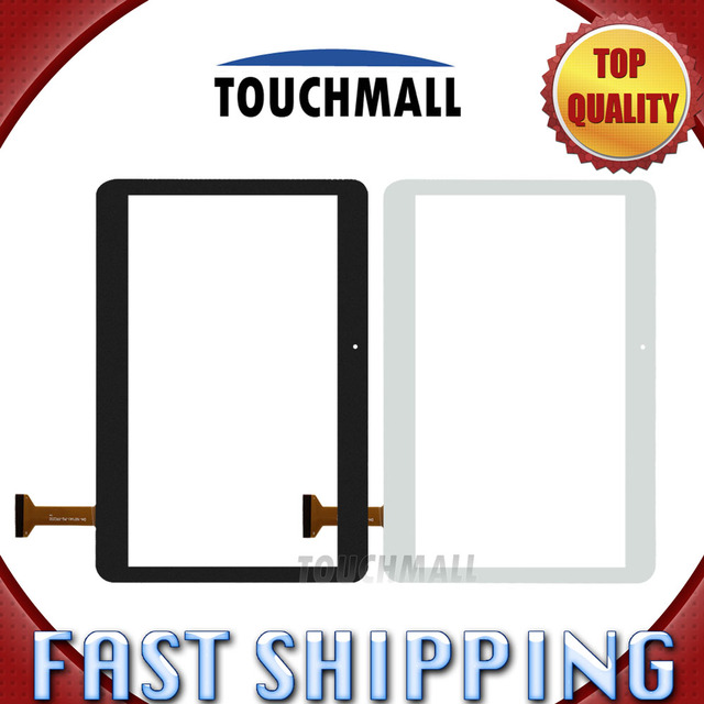 For New Touch Screen  Digitizer Glass Replacement BDF 101 DH-1071A1-PG-FPC232 10.1-inch Black White Free Shipping