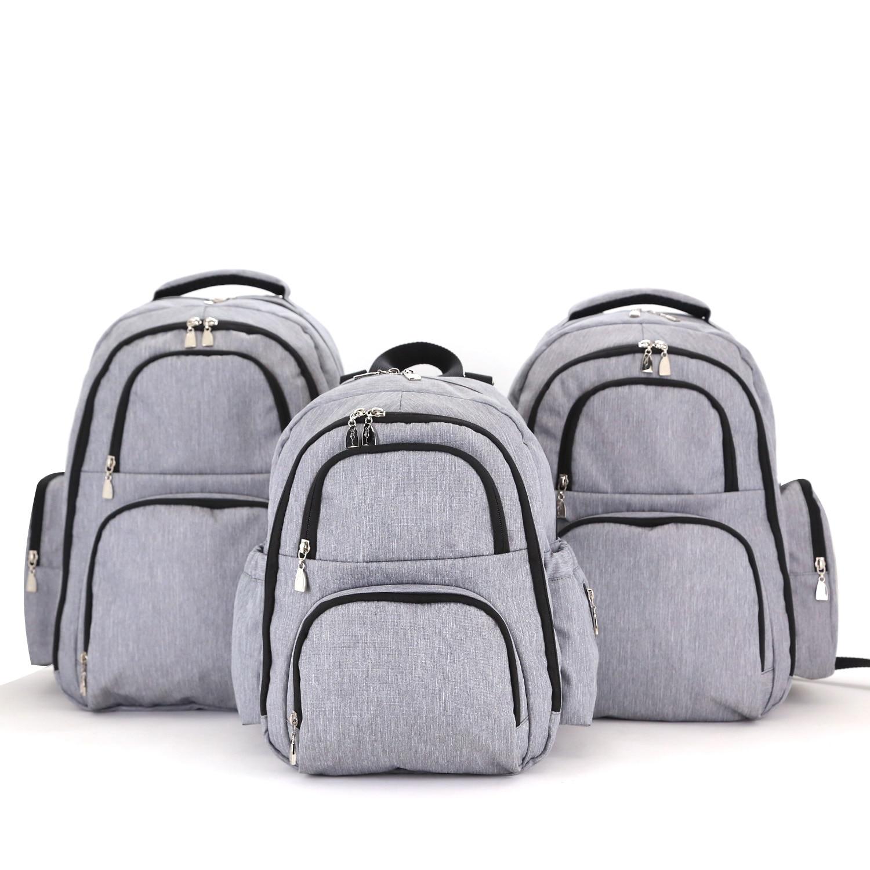 Wholesale Mummy Backpack Large Nappy Bag Changing Bag Elegant Stroller Bag Eco-friendly Mommy Insulation Bag