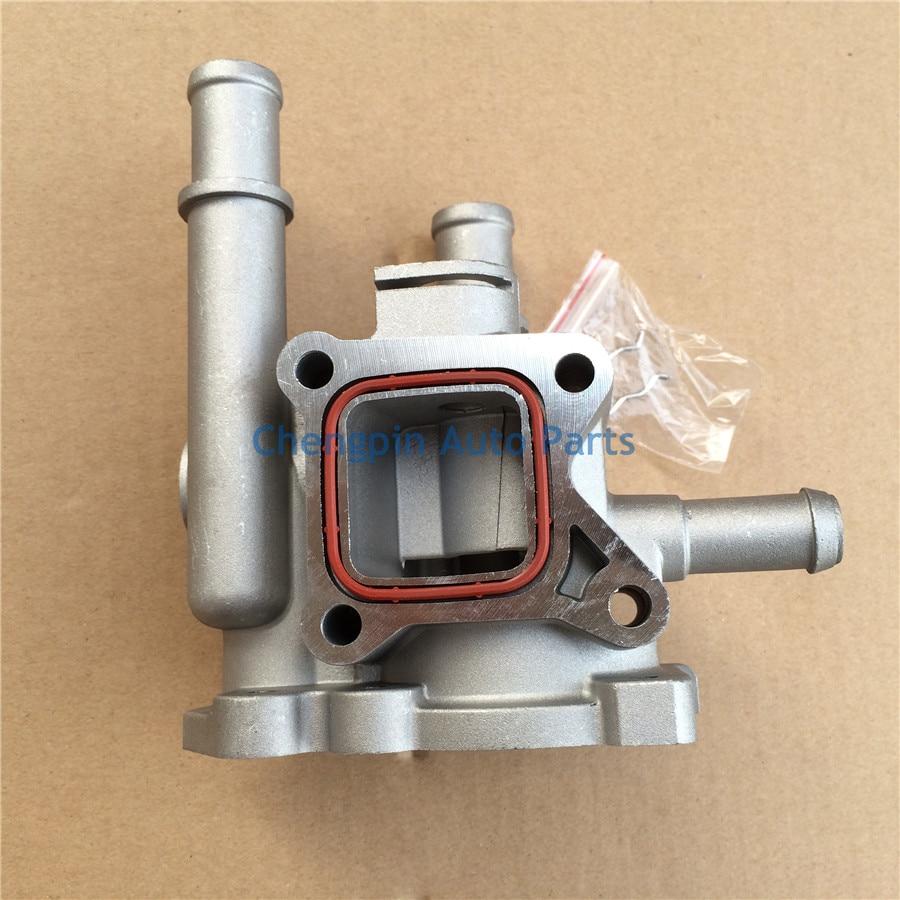 ᐂAuto Aluminum Engine Coolant Thermostat/HOUSING Cover OEM ...