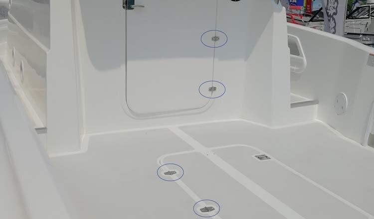 resistente espelho alto acabamento porta da cabine