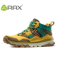 Rax Men Outdoor Hiking Shoes High Top Women Sports Shoes 2016 Autumn And Winter Damping Sneaker