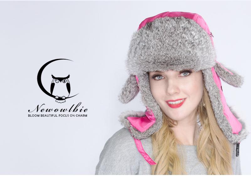 115538e03a799 Lovers Hiver Chapeaux 2019 Nouveau Étanche bonnet Réel Nature De ...