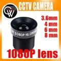 CCTV 1080 P Lens 1/2. 7 ''3.6mm 4mm 6mm 8mm Para CCTV Full HD câmera do IP da Câmera M12 * 0.5 MTV Montagem