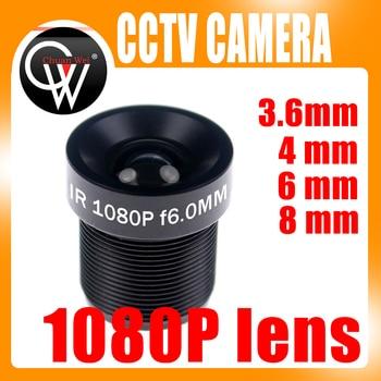 CCTV 1080P Lens 1/2.7'' 3.6mm 4mm 6mm 8mm For Full HD CCTV Camera IP Camera M12*0.5 MTV Mount hqcam 25mm cctv board mtv lens 2 0magepixel starlight cctv lens 25mm ir mtv m12 mount f1 2 for security video cameras 1 3