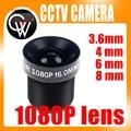 Lente CCTV 1080 P 1/2. 7 ''3.6mm 4mm 6mm 8mm Para Full HD CCTV cámara IP de La Cámara M12 * 0.5 MTV Montaje