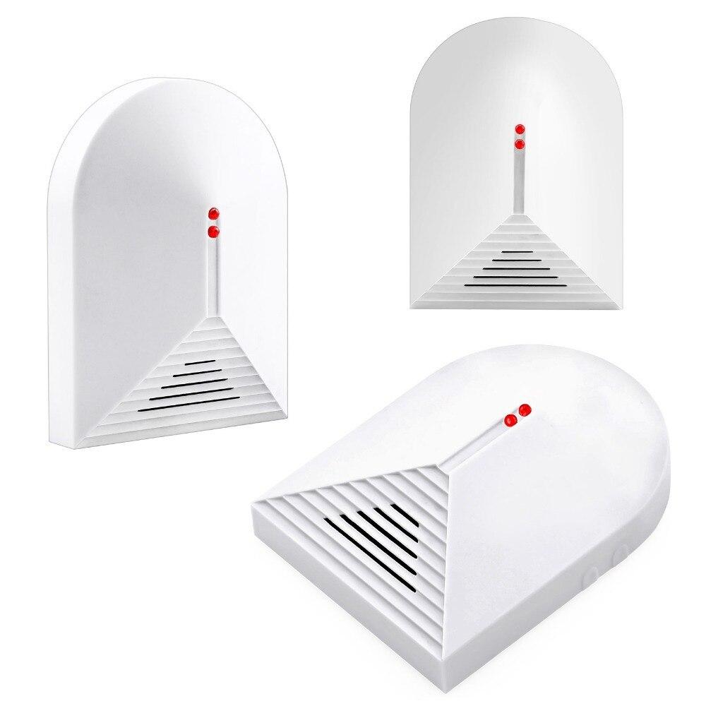 imágenes para Detector de Rotura de Cristal sin hilos de Alarma Antirrobo Casa Ajustable Sensibilidad 315 MHz/433 MHz
