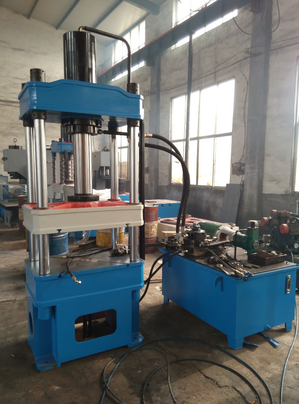 YTD32 100TA electric hydraulic press machine shop machinery tools