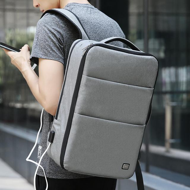 Mark Ryden New Large Capacity Man Backpack Waterproof USB Design 17 inch Laptop Bags Male Short Trip Travel Bag