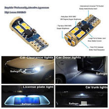 цена на T10 LED 3030 12-SMD Clearance Lights Bulbs CarInterior Light 6500k white Lamp white light dc/12v  2Pcs