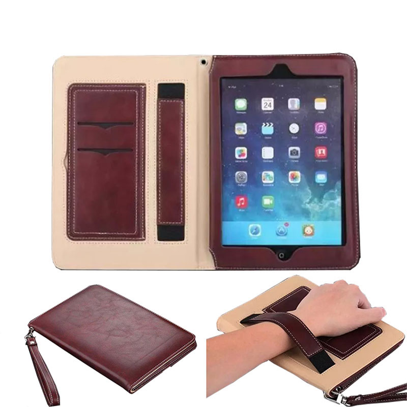 Cover Case for Apple iPad Mini 1 2 3 Luxury Full Protect PU Tablet Case with Hand Strap for iPad Mini 1 2 3 7.9 inch Capa Para защитное стекло для ipad mini mini 2 mini 3 protect