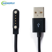 HANGRUI USB Magnetic Charger Cable Universal 4 Pin Magnetic Suction charger cable for Smart Watch GT88 G3 KW18 KW88 smartwatch