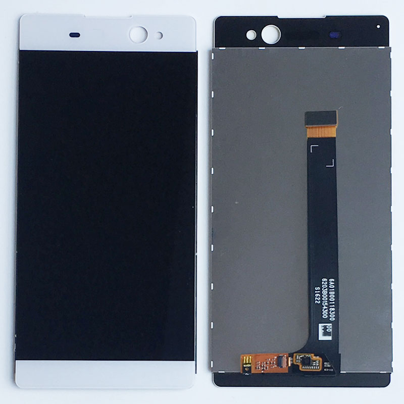 White LCD Display screen Touch Digitizer Assembly For Sony Xperia C6 XA Ultra F3211 F321