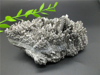 New Product Natural Mineral Specimens Rich Tree Bring Wealth Furnishing Articles Silver Reiki Energy White Alloy Stones Vug