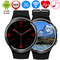 ZW24 Smart Watch MTK6580 Quad Core 1 ГБ + 8 ГБ Bluetooth 4.1 3 Г WI-FI Smartwatch GPS Монитор Сердечного ритма Спортивные Часы Для Android iOS