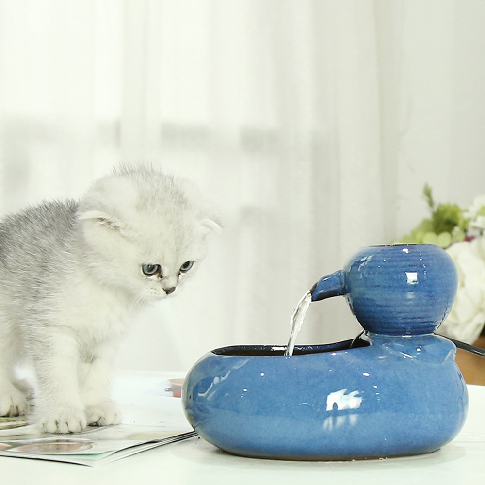 500ml Pet Water Feeder Water Dispenser Automatic Circulating Drinker with USB Charging Pet Drinking Fountain Dispenser