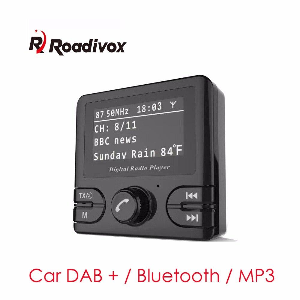 """Автомобиль dab Радио адаптер Универсальный Авто dab Радио приемник Bluetooth fm-передатчик 3 """"tft-дисплей громкой связи AUX Телевизионные антенны"""