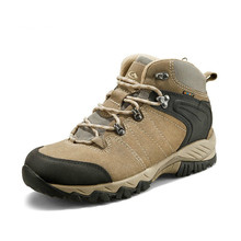 35-46 High Top Waterproof Outdoor Non-slip Hiking Shoes Men Women Hunting Climbing Trekking Wearproo
