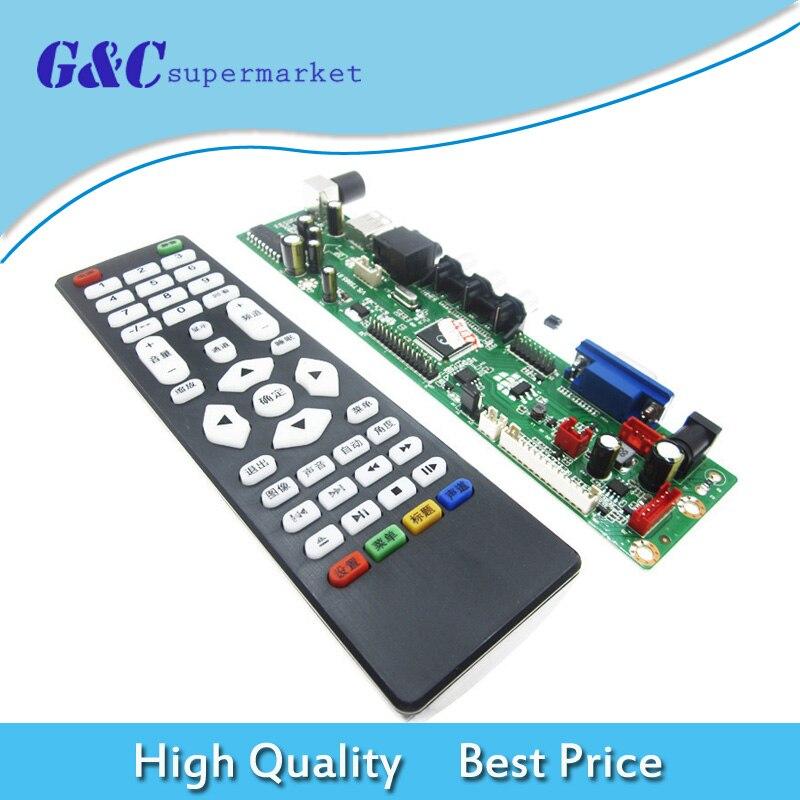 HDMI USB Interface LCD TV Controller Board TV Motherboard TV V29 VGA AV