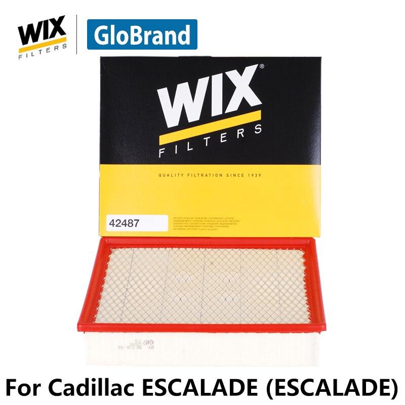 WiX car air Filter 42487 for Cadillac ESCALADE ( ESCALADE ) auto part