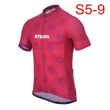 STRAVA Cycling Jersey 2018 Cycling Clothing Racing Sport Bike Jersey Top  Cycling Wear Short Sleeve Maillot ropa Ciclismo K122410 52d2d0b01