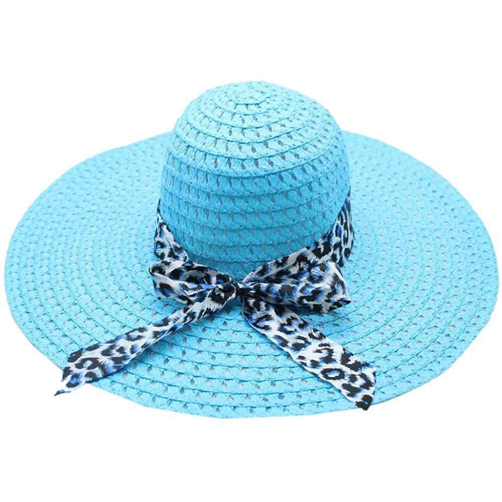 قبعة للشاطئ للجنسين عارضة النساء قبعات صيفية الشاطئ 2019 قابل للتعديل للجنسين كاب شاطئ أحد سترو قبعة الفرقة الشمس Y508