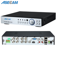 Super New 8CH AHD DVR AHD H HD 1080P Video Recorder H.264 CCTV Camera Onvif Network 8 Channel IP NVR Multilanguage With Alarm