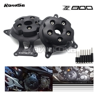 R QIANKONG For KAWASAKI Z800 2013 2016 Engine Stator Cover Engine Protective Cover Left Right Side