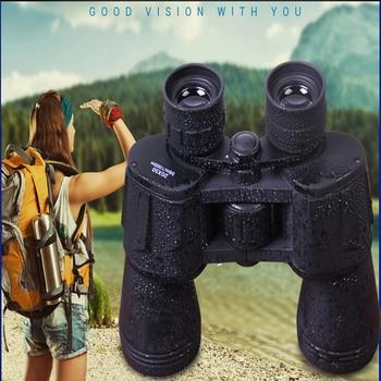 Tactical Binoculars 20X50 HD Wide Angle Central Zoom BAK4 Binocular Telescope Outdoor Sports Travel Sightseeing Shooting Hunting фото