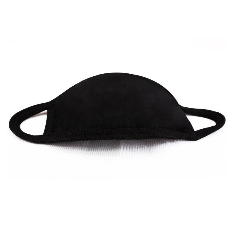 Mouth Mask Black Cotton Blend Anti Dust And Nose Protection Face Mouth Mask Fashion Reusable Masks For Man Woman Respirator S3