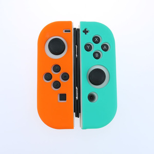 Image 3 - Light Purple Silicone Case For NS Switch Cover Joycon Case Soft Controller Shell Console Protective Controller Joy con Cover