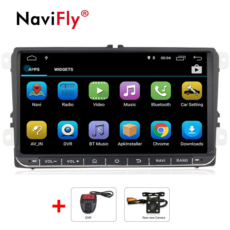 "9"" Android Quad Core Car GPS Navigation for VW Volkswagen SKODA GOLF 5 Golf 6 POLO PASSAT B5 B6 JETTA TIGUAN dvd player BT RDS-in Car Multimedia Player from Automobiles & Motorcycles"