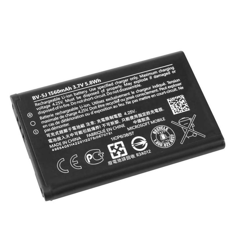 Original BV-5J bateria do telefone para nokia lumia 435 lumia 532 rm1069 rm1071 1560 mah BV-5J