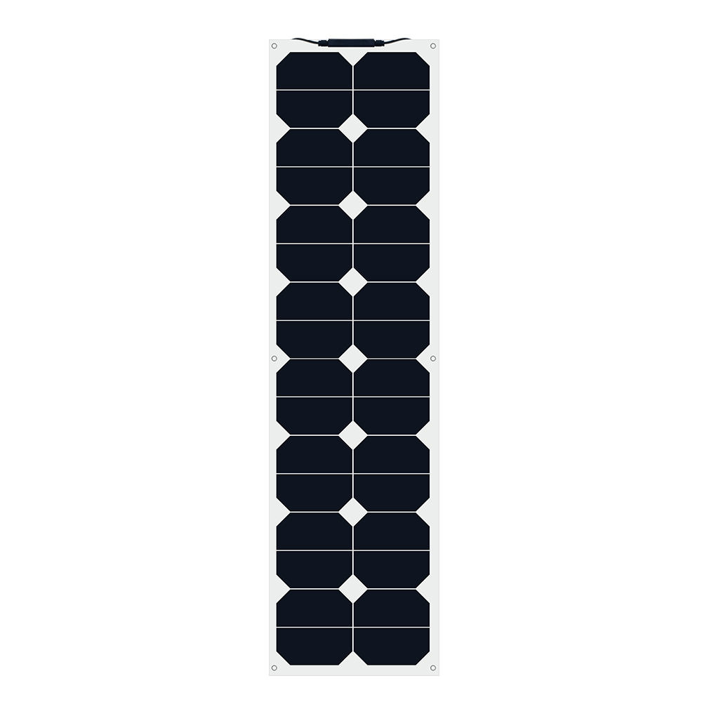 XINPUGUANG Solar Battery Flexible Panel 50W 12V for Fishing Boat Cabin Camping Car High Quality Panels Cell China
