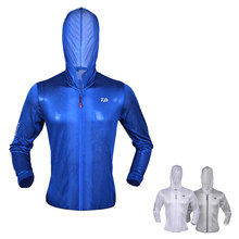 Daiwa pesca vest Outdoor track Anti-mosquito clothing Fishing Vests Quick-Drying Breathable Anti-UV Sun Protection Sport Clothes