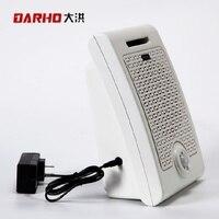 Darho Wall PIR Motion Sensor Audio Speaker Infrared Body Sensor Alarm Public Place Voice Broadcast Welcome Machine