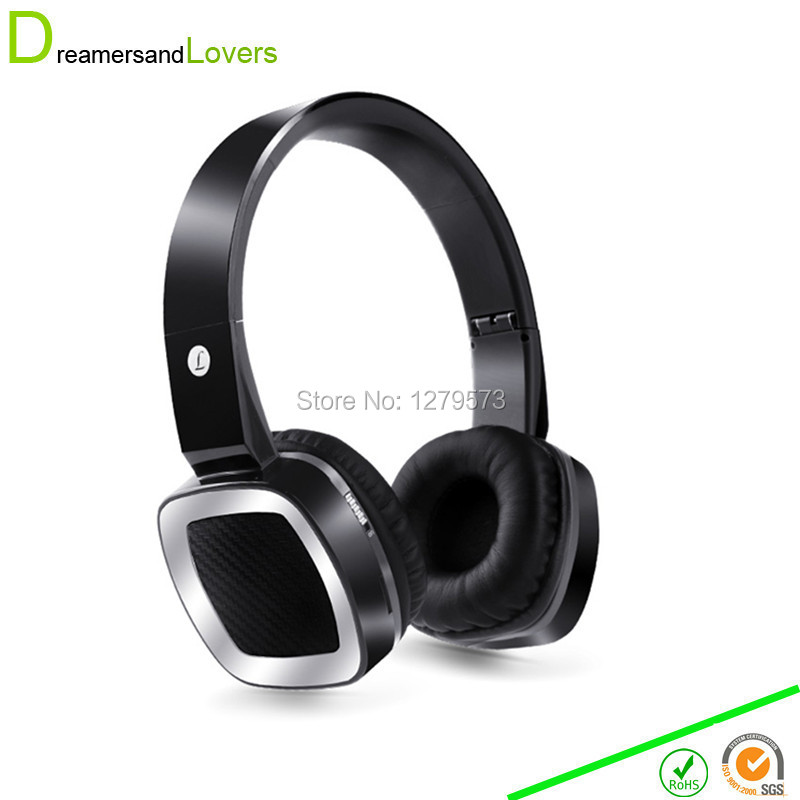 Bluetooth Headphones Wireless Stereo Headset Earphone with Mic For TV PC Mobile Phone + TF Card MP3 Player / FM Radio Black