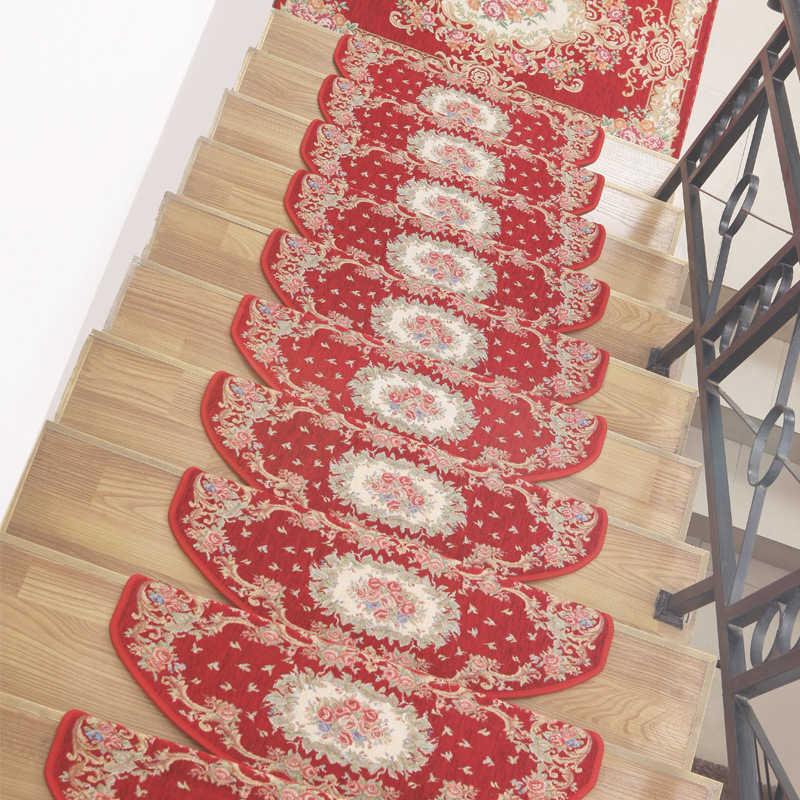 Beibehang Континентальный лестницы степпинга площадка самоклеющаяся нескользящей резиновой лестница из дерева коврики лестницы степпинга мат