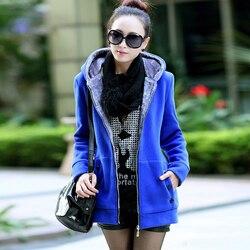 Kobiety moda jesień zima zagęścić sportowe bawełniane płaszcz panie stałe ciepła kurtka z kapturem odzieży wierzchniej kobiet wyściełane parka płaszcz 2