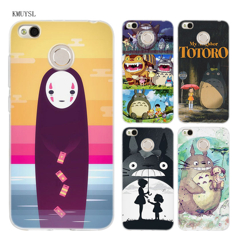 KMUYSL My Neighbor Totoro Anime TPU Transparent Soft Case Cover for Xiaomi Redmi Note 4X 4 4A 5 Mi A1 A2 Plus S2
