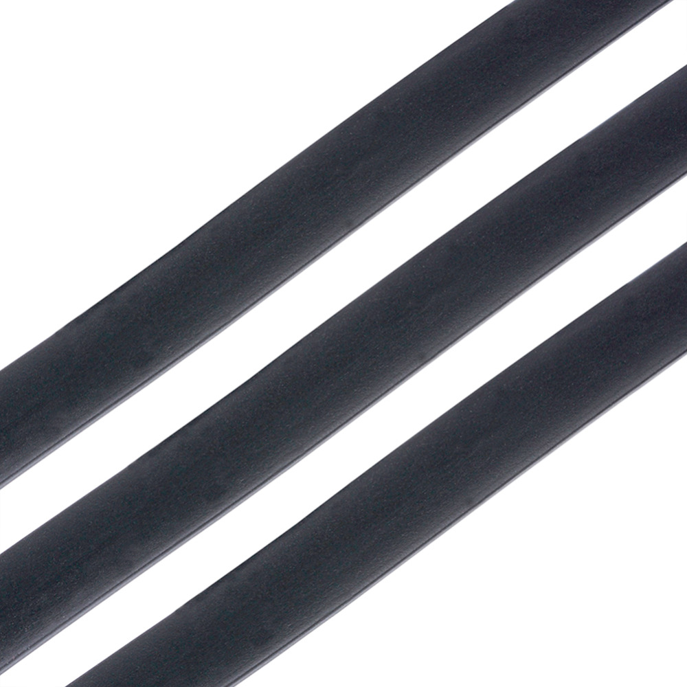 แบนสีดำสังเคราะห์ยางสำหรับเครื่องประดับทำ DIY ประมาณ 6x2 มม.2000 กรัม/ล็อต-ใน อุปกรณ์ค้นหาอัญมณีและส่วนประกอบ จาก อัญมณีและเครื่องประดับ บน   2